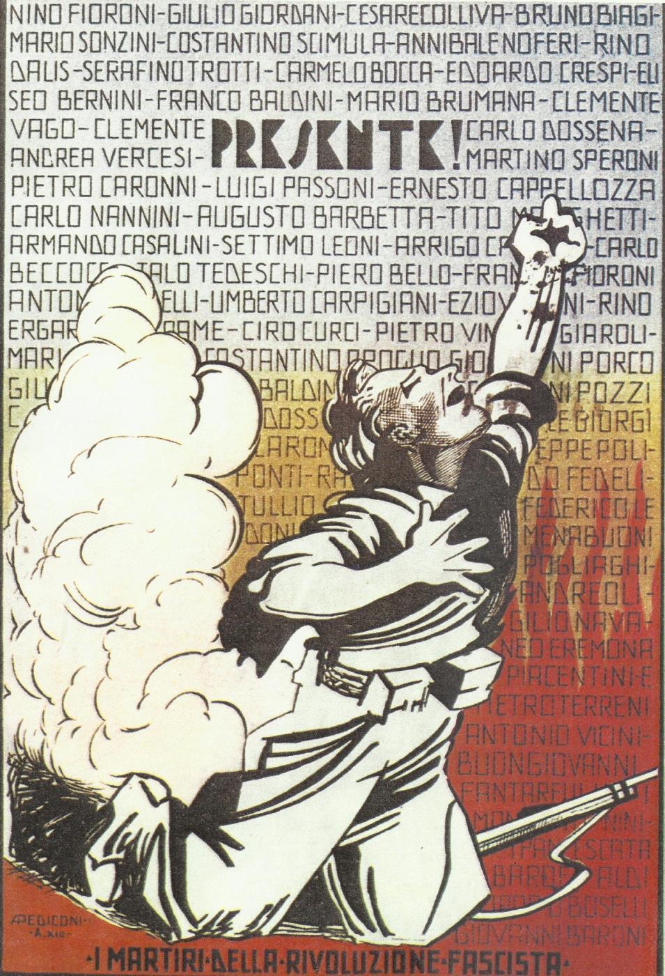1922: l'anno primo dell'Era Fascista (settimo capitolo)