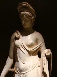 Nemesi (dettaglio, dal Nymphaeum di Sagalassos, ora al Burdur Museum)