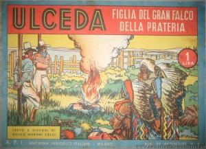 """""""Albi Avventure"""" n. 5, 1939. È il primo albo della prima ristampa di Ulceda (immagine tratta dal sito """"collezionismofumetti.com"""""""