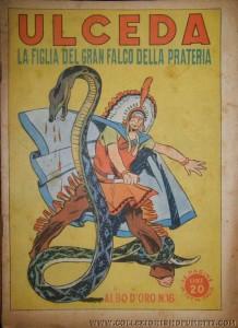 """La prima ristampa del Dopoguerra: """"Albo d'Oro"""" n. 16 del 1946 (immagine tratta dal sito """"collezionismofumetti.com"""")"""