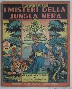 """Il primo """"Albo di Salgari"""", serie nata nel 1938 per raccogliere le """"avventure malesi"""" di Moroni Celsi (immagine tratta dal sito """"collezionismofumetti.com"""""""