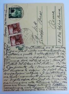 Cartolina postale inviata da Di Nardo a Brex (recto)