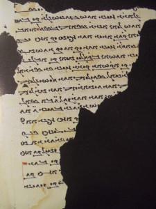 manoscritto manicheo MIK III 8259 in scrittura estrangela