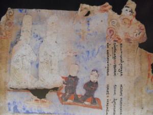 eletti manichei in un manoscritto di Turfan