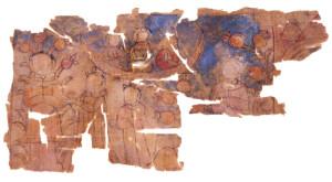 fig 8 la barca della Luna in un manoscritto di Turfan