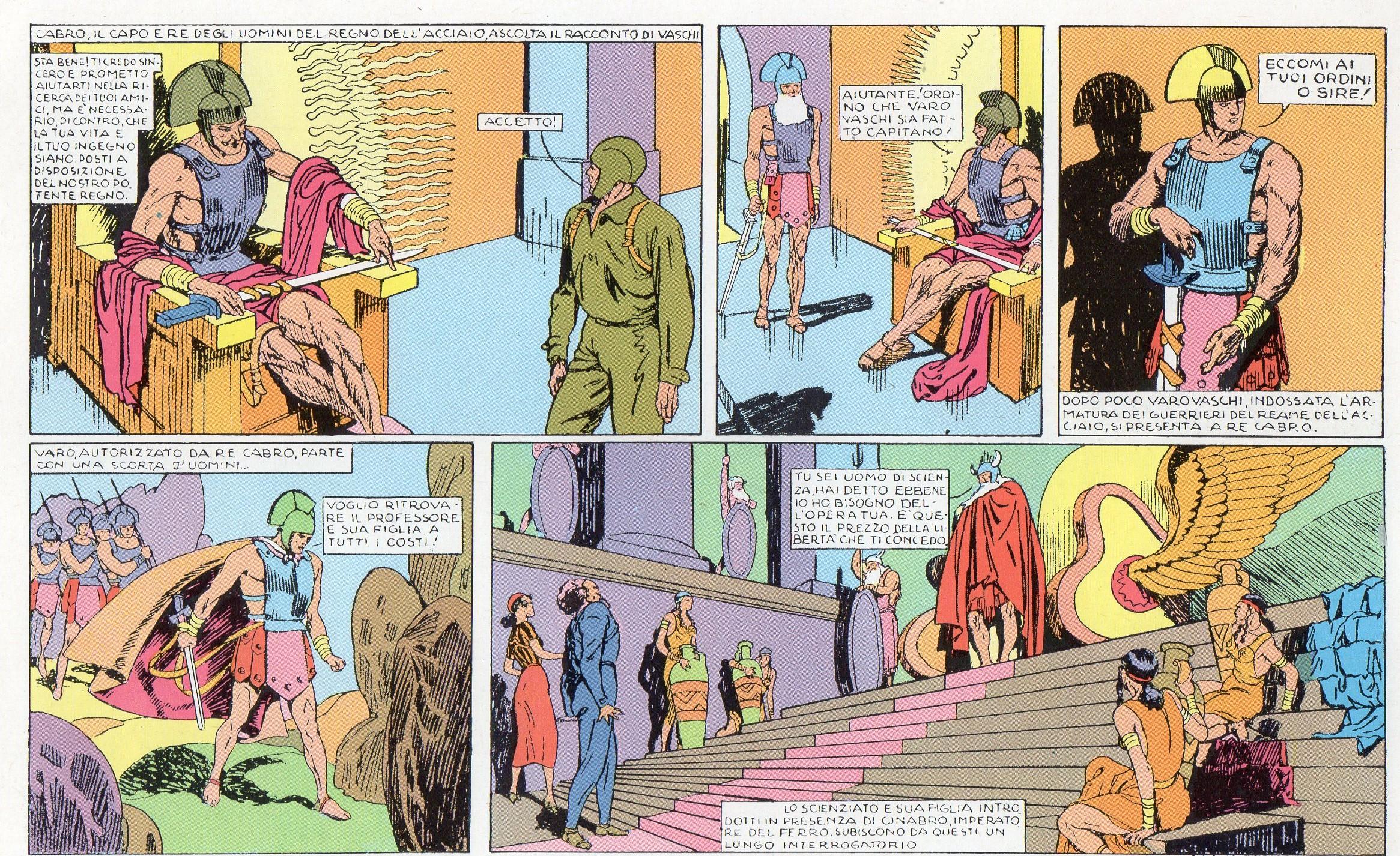 Fascismo & fumetti: S.K.1 e la nostra fantascienza