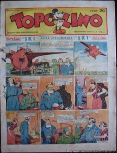 """La prima punta di """"S.K.1"""", su Topolino n. 151 del 17 novembre 1935"""