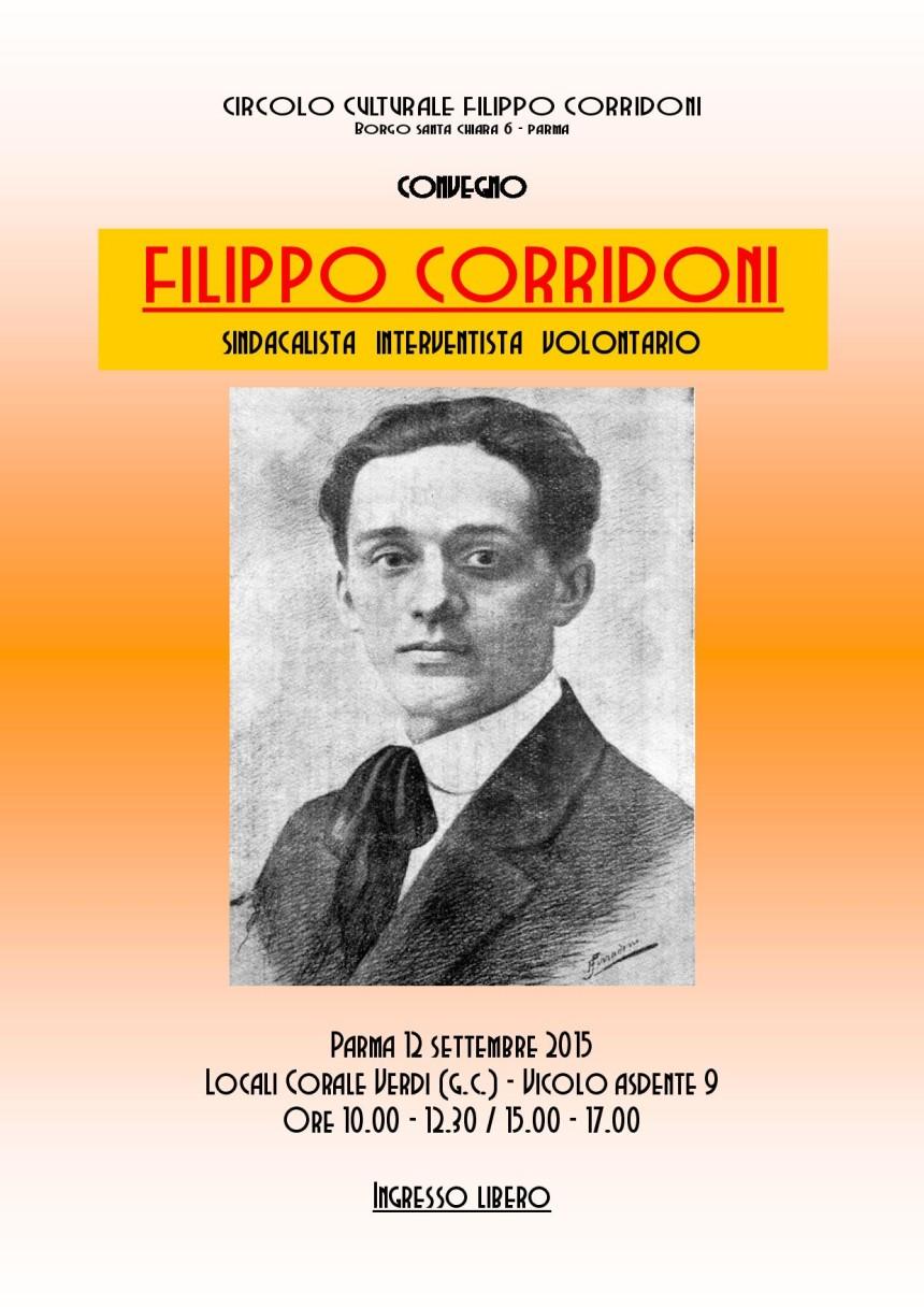 Filippo Corridoni Sindacalista Rivoluzionario, 2^ parte − Giovanni Facchini