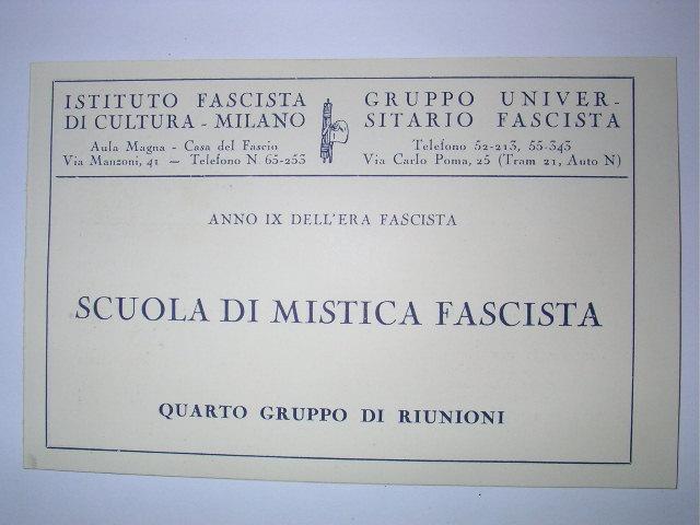 Marmo e Volontà – Mistica della Rivoluzione Fascista – Maurizio Rossi