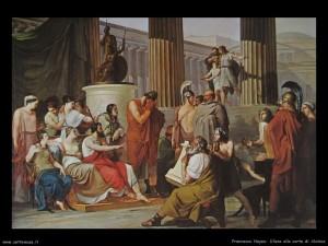 Francesco Hayez - Ulisse alla corte di Alcinoo Napoli – Galleria Nazionale di Capodimonte