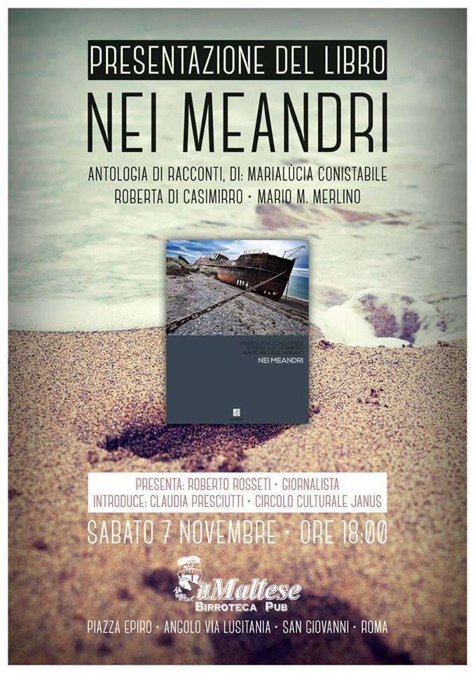 Recensione in nero, 'Nei meandri' – Angelo Spaziano