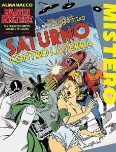 """""""Saturno contro la Terra"""" secondo Alessandrini (Almanacco del Mistero 2015)"""