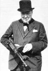 Il criminale di guerra Winston Churchill