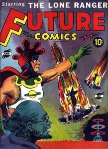 """""""Future Comics"""" n. 1 di 4, 1940 """"Saturno"""" conquista l'America!"""