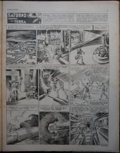 """""""Topolino"""" n. 216, febbraio 1937. Dopo la chiusura de """"I Tre Porcellini"""", riparte qui l'epopea di """"Saturno"""""""