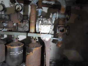 Impianto di ventilazione, filtrazione e rigenerazione  dell'aria della S.A.A. Marelli.