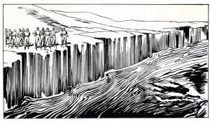 Rebo fugge a nuoto nel Mar Glaciale Artico!