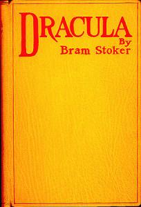 """La copertina della prima edizione di """"Dracula"""""""