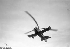 Il primo autogiro di produzione germanica (1932)