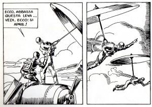 Il paracadute a motore di Ciro