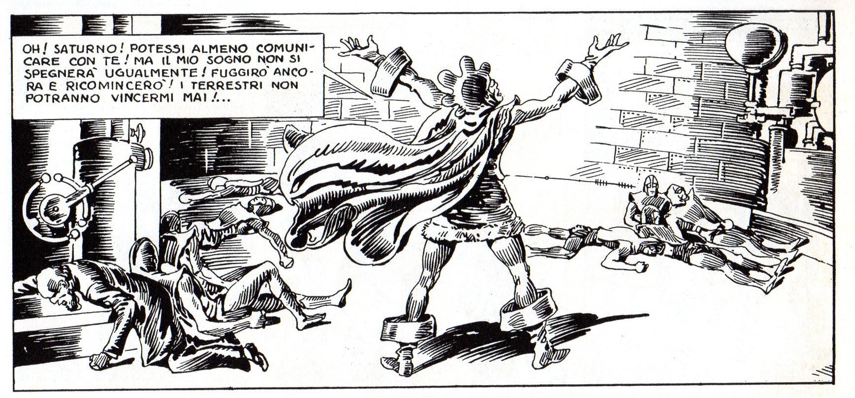 Fascismo & Fumetto: Saturno contro la Terra (terza parte) – di Francesco G. Manetti