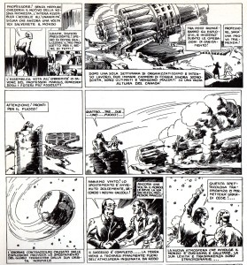 Grazie al rinculo dei cannoni di Marcus la Terra si sposta dall'orbita, lasciandosi alle spalle la parte contaminata dell'atmosfera!