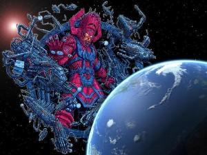 Il Galactus della Marvel, spaventoso divoratore di mondi