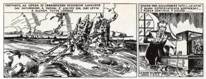 La devastazione della capitale britannica e il SOS lanciato da Radio Londra