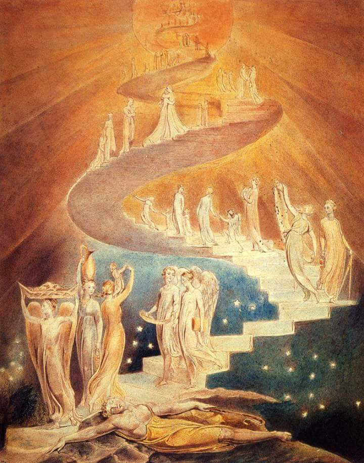 ARTE & ERMETISMO: 'LA SCALA DI GIACOBBE' di William Blake a cura di Stefano Mayorca ©