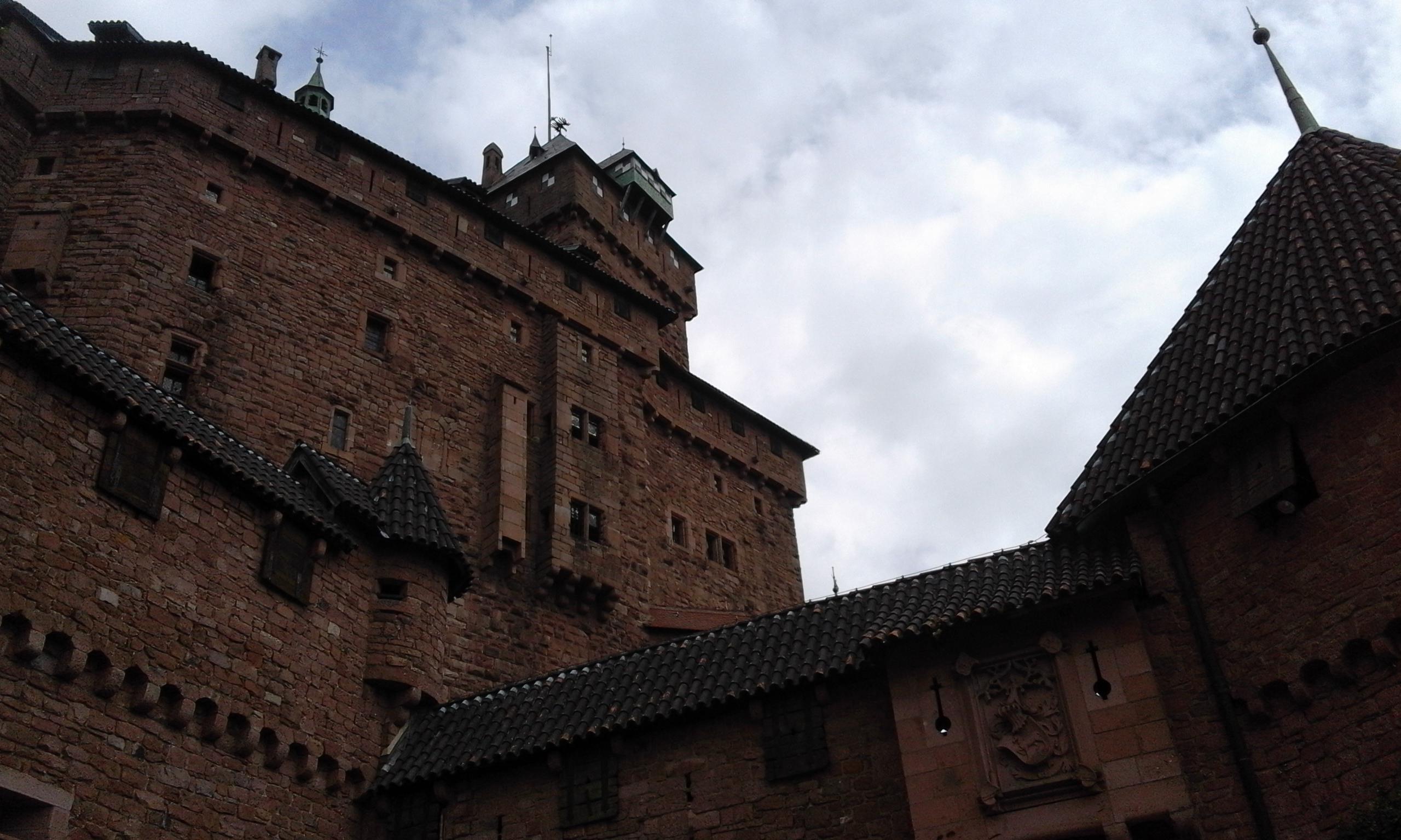 Strade d'Europa –  Il Castello di Haut – Koenigsbourg