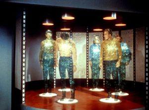 """...è del tutto analoga alla reintegrazione dei personaggi che usano il teletrasporto in """"Star Trek"""""""