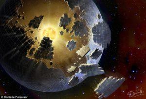 """Come potrebbe avvenire la costruzione di una """"sfera di Dyson"""""""
