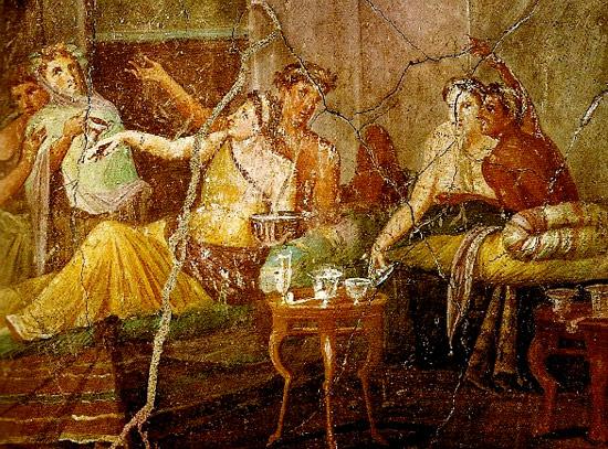 Il vino, dai riti di Roma all'altare cristiano – Paolo Galiano ©