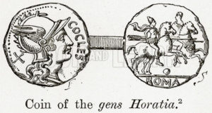 Coin of the Gens Horatia