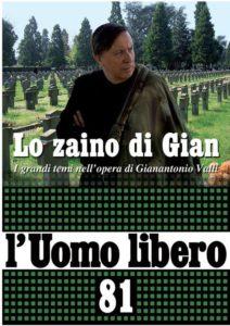 """L'uomo Libero"" n. 81, ottobre 2016"
