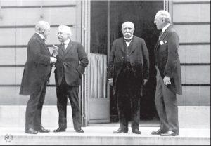Gennaio 1919 la conferenza della Pax Americana in Europa