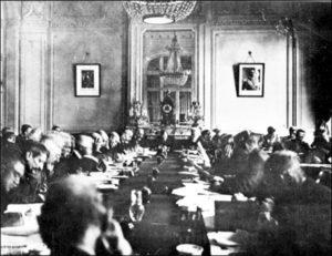 Gennaio 1919 la conferenza della Pax Americana in Europa2