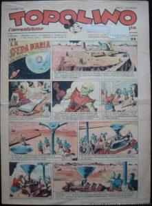 Topolino n. 560 del 7 settembre 1943, con la prima puntata dell'episodio La sfera d'aria
