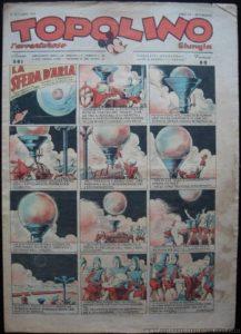 Topolino 561 del 14 settembre 1943, con la seconda puntata dell'episodio La sfera d'aria
