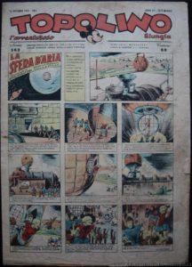 Topolino n. 563 (14 dicembre 1943 e quarta puntata della Sfera d'aria)