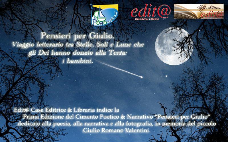 Pensieri per Giulio – Stelle, Soli e Lune – Prima Edizione