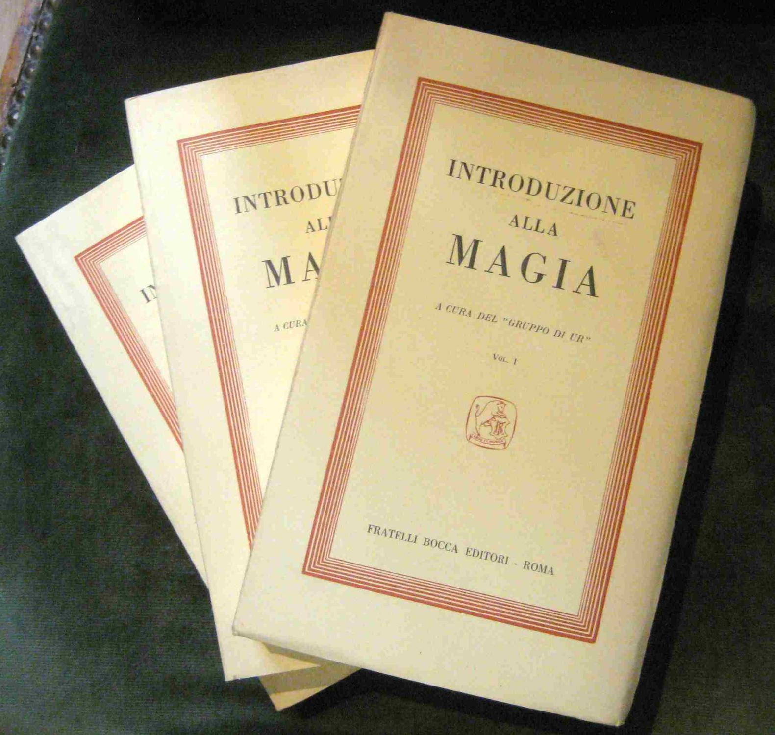 Il Gruppo di Ur e la Tradizione Esoterica – Magia e modernità – Giovanni Sessa