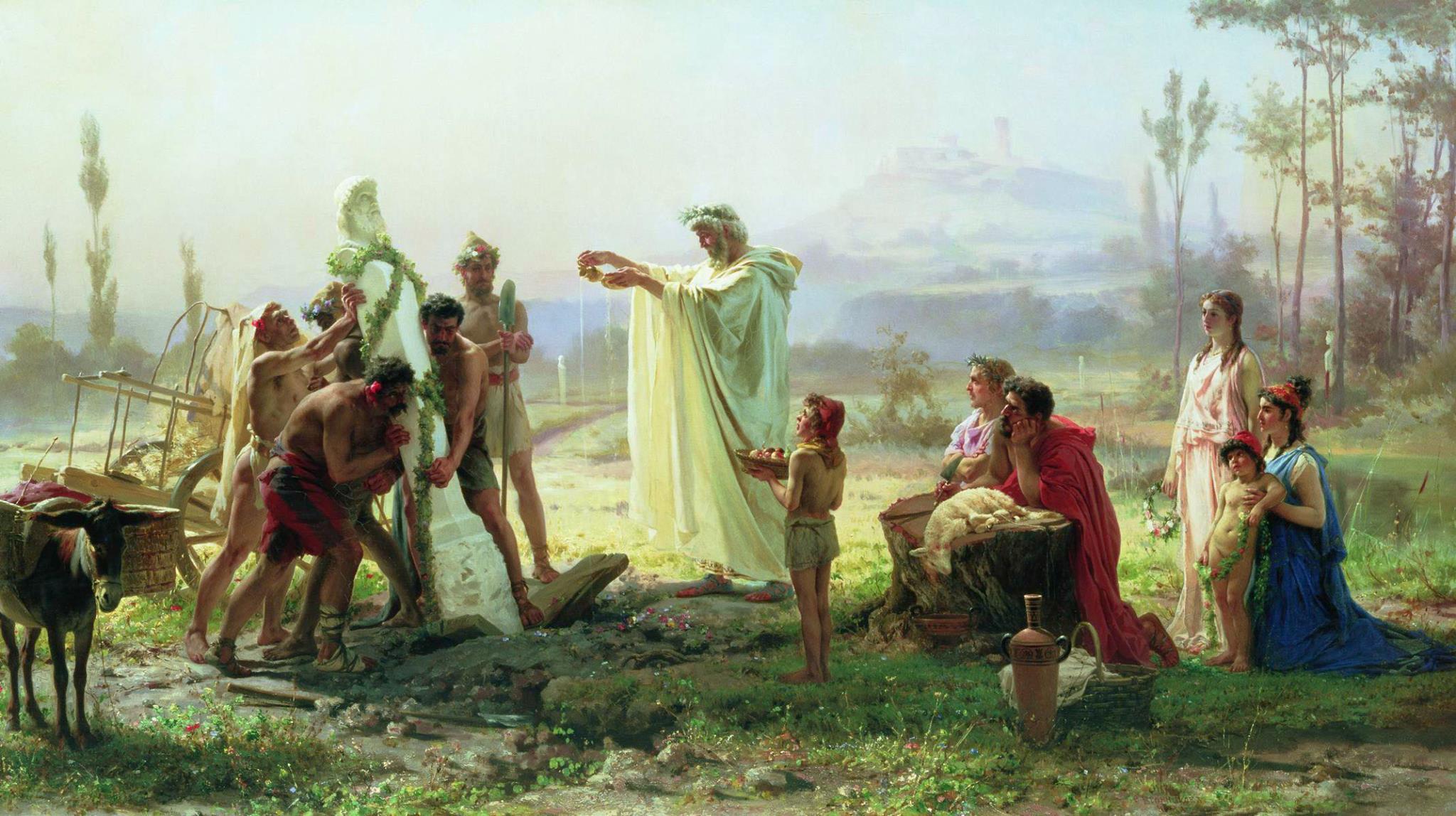 Tre preghiere romane – Anna Maria Baiamonte