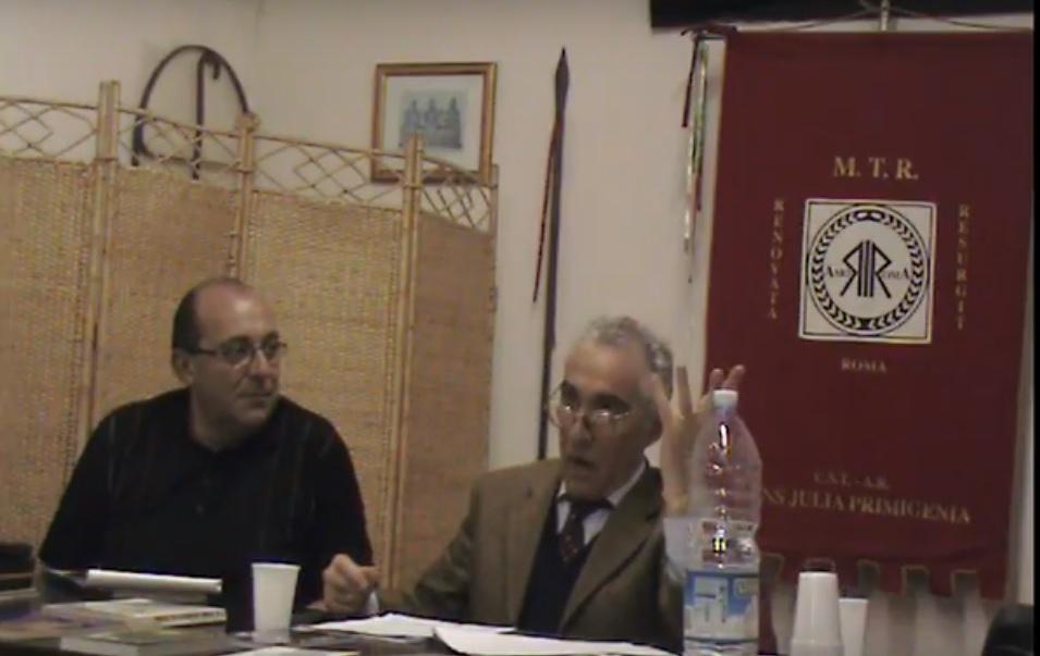 L' essenza della Romanità – Giandomenico Casalino (Conferenza presso MTR-Roma)