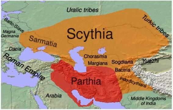 Cimmeri, Sciti e Sarmati: i popoli iranici dell'Europa dell'Est – Alfonso Piscitelli