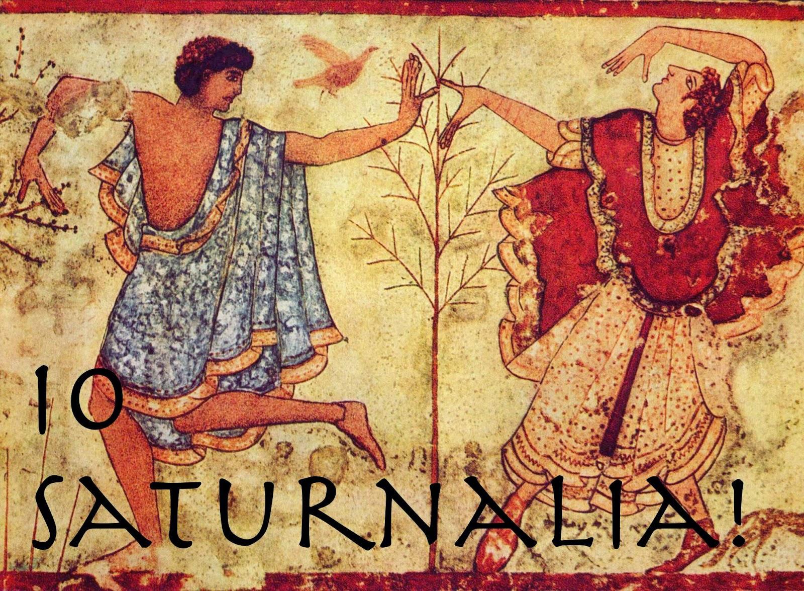 Ad Altaforte, un simposio sui Saturnalia e sul Solstizio d'Inverno – Valerio Avalon