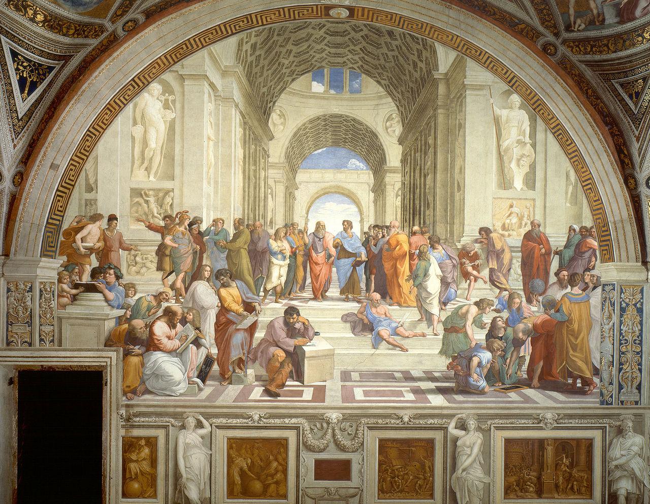 L'autentico significato della Scuola di Atene di Raffaello – Gaetano Barbella
