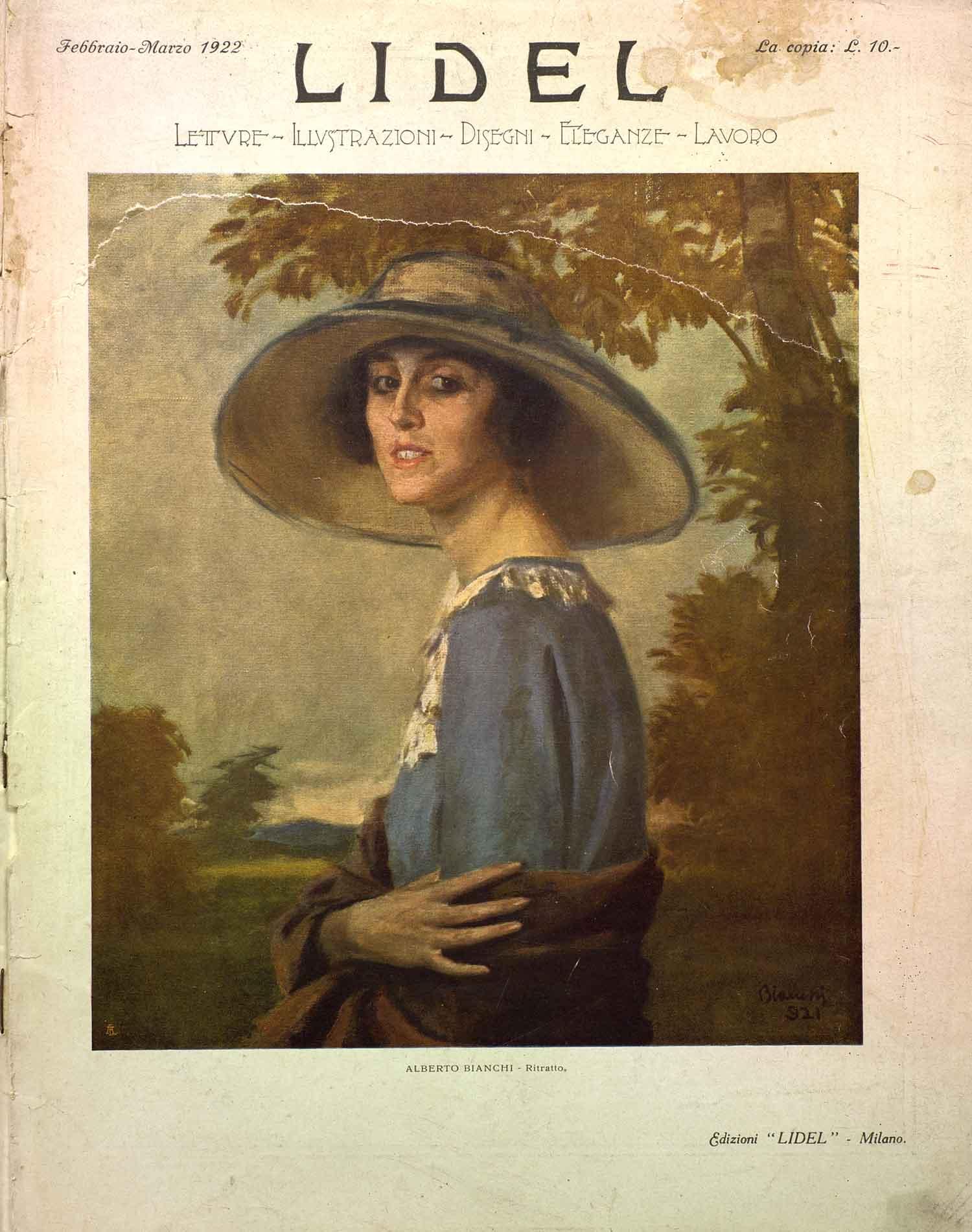 Italiae Fashion: LIDEL 1919 – 1935. A cura di Emanuele Casalena
