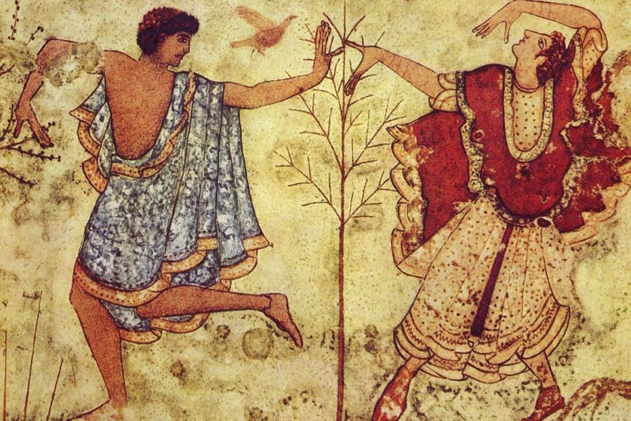 DANZA e DANZARE derivano dall'etrusco – Massimo Pittau