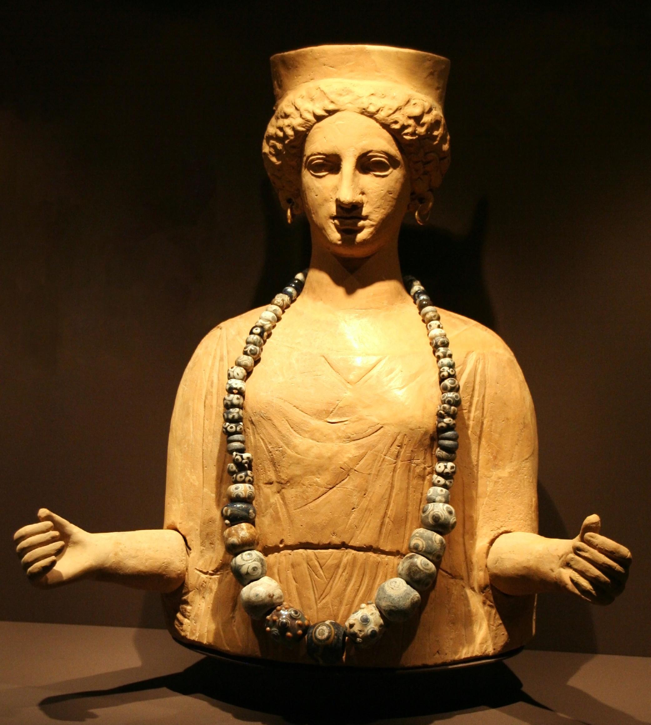 Da Tanit cartaginese alla dea Caelestis sull'arce Capitolina – Claudia Santi